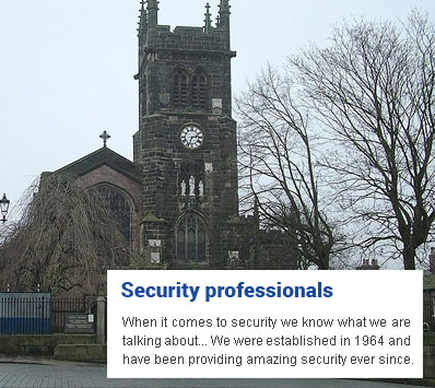 Security Installer Macclesfield